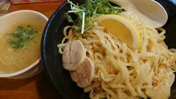 「鶏白湯濃厚つけ麺大」@濃厚鶏白湯らーめん 麺屋一楽の写真