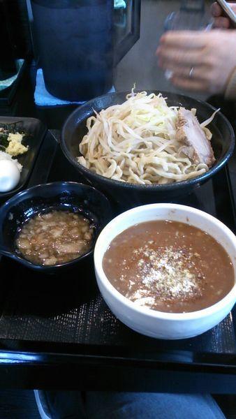 「カレーつけ麺大」@つけ麺 どでんの写真