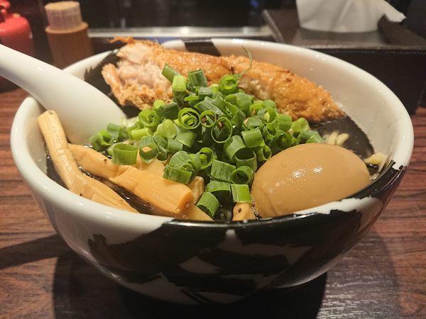 「黒武骨ら~麺」@麺屋武蔵 武骨の写真