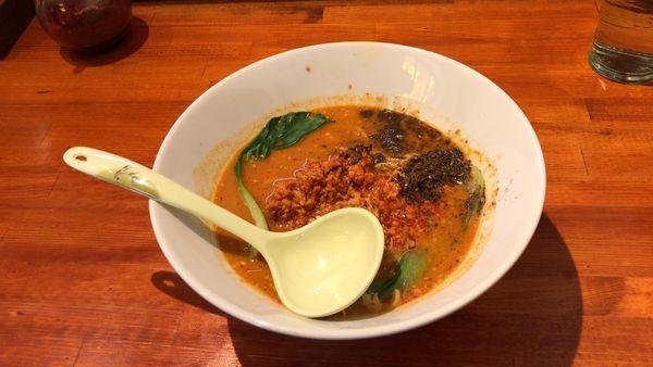 「担々麺(痺れ増し+¥50)」@麺屋 じねんの写真