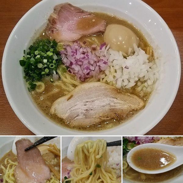 「こく煮節ラーメン(限定)+味玉= 950円」@中華そば 七麺鳥の写真