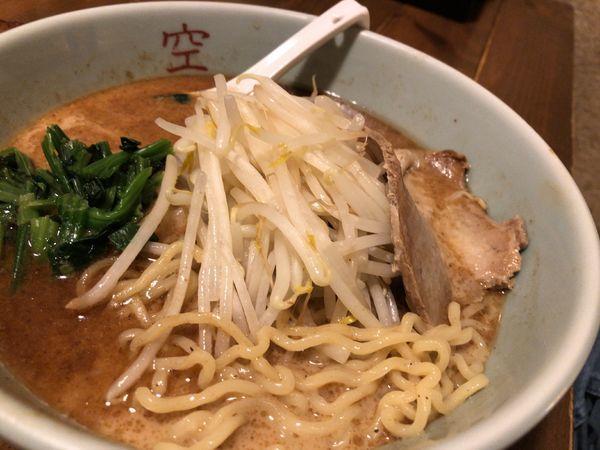 「ぶしラーメン 756円」@麺屋 空の写真