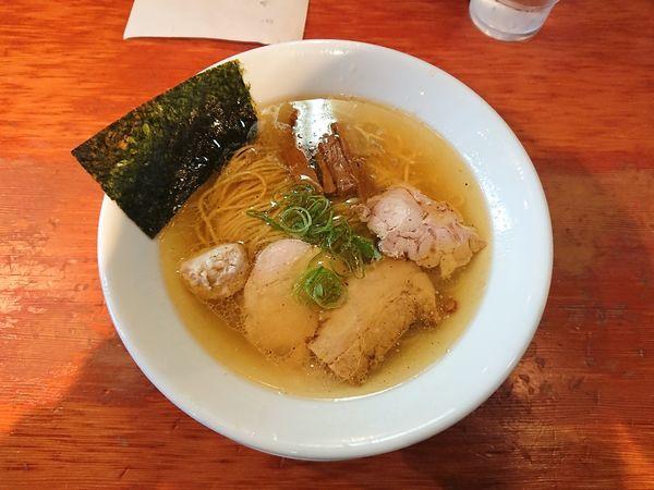 「塩らぁめん 700円」@自家製麺 えなみの写真