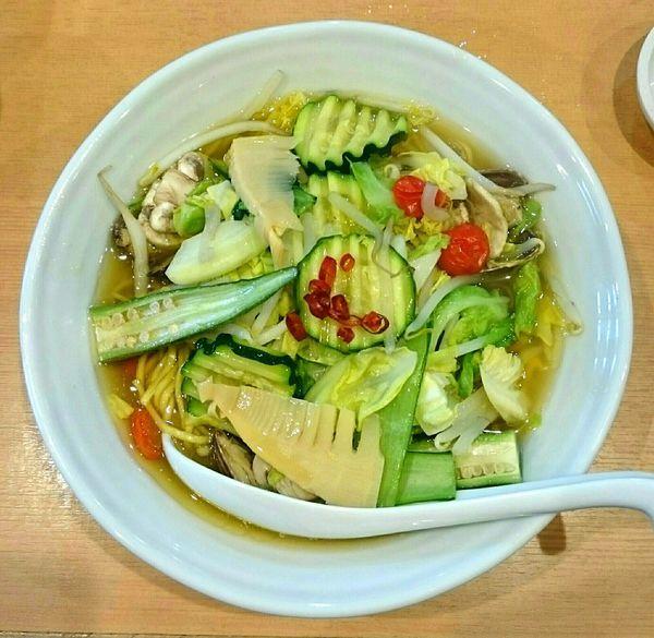 「彩り野菜とあさりのタンメン【春季限定#2】」@中華蕎麦 はるの写真
