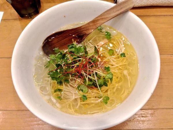 「塩SOBA」@麺屋 Hulu-luの写真