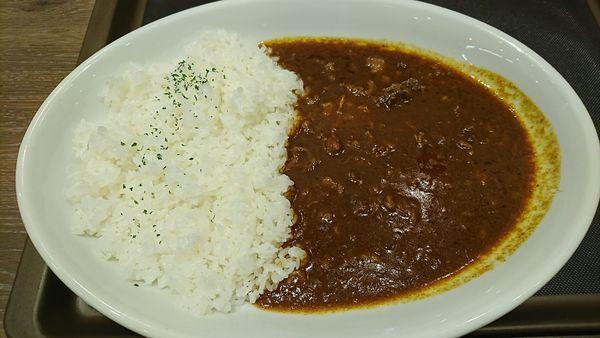 「煮込みビーフカレー(激辛) 390円」@マイカリー食堂 上野店の写真