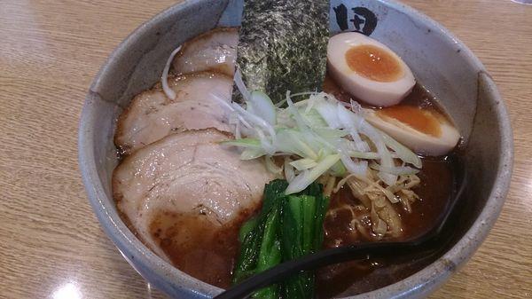 「本家田ぶしら〜めん」@麺処 田ぶし 横浜店の写真