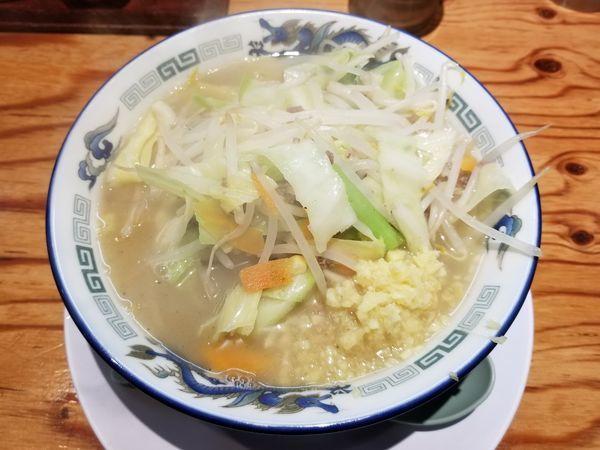 「姫路ラーメン(並)+生姜トッピング」@姫路タンメンの写真