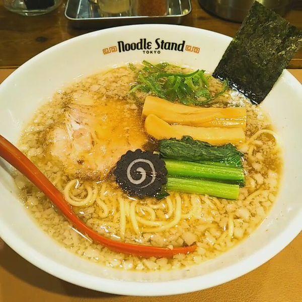「背脂KUROSHIO煮干」@Noodle Stand Tokyoの写真