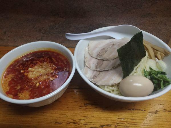 「ラー油味噌つけ麺」@元祖一条流がんこ 十一代目の写真