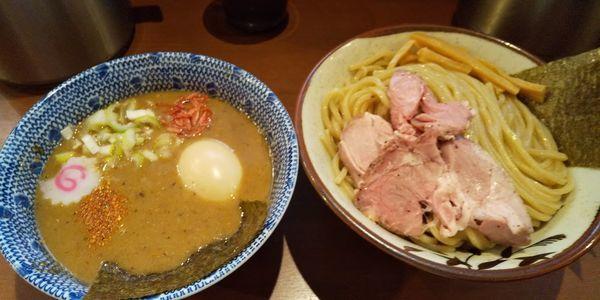 「海老つけ麺」@俺の麺 春道の写真