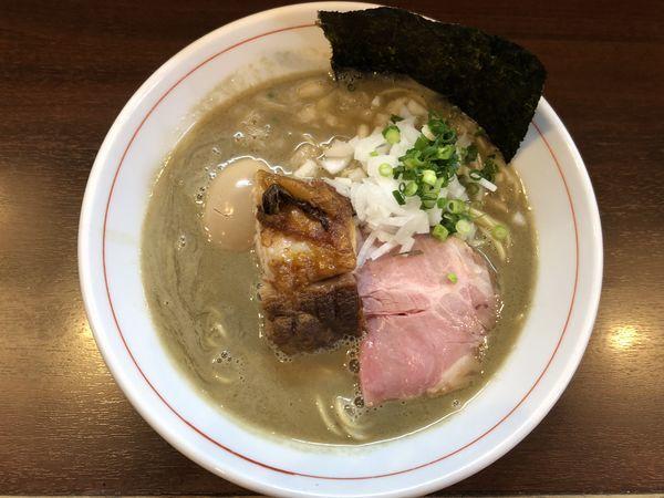 「濃厚煮干し蕎麦・味玉」@零一弐三の写真