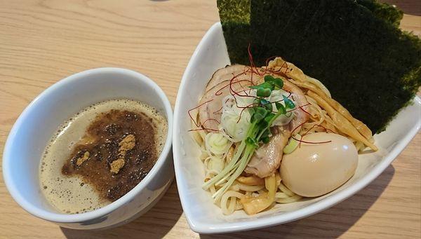 「特製つけ麺(1150円)」@杏と桜の写真