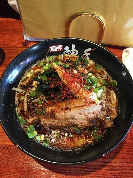 「神の手『赤』」@麺昇 神の手の写真
