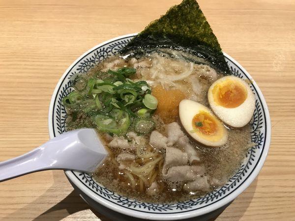 「肉そば 味玉入り」@丸源ラーメン 東久留米店の写真