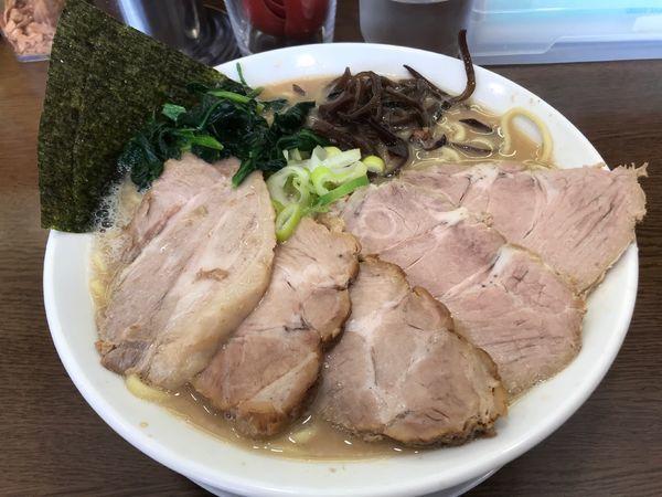 「チャーシューメン大盛 1,130円」@うまいヨ ゆうちゃんラーメンの写真