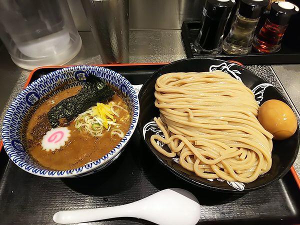 「濃厚つけ麺大+味玉」@松戸富田麺絆の写真