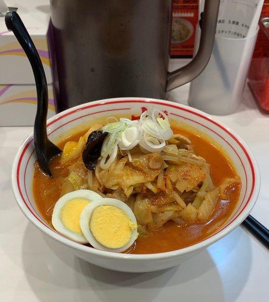 「五目味噌タンメン」@蒙古タンメン 中本 柏店の写真