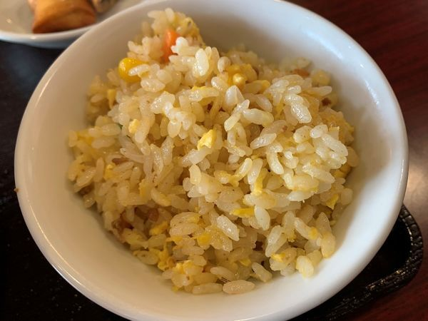 「野菜湯麺・半チャーハンセット」@本格四川中華料理 王さん私家菜 上野御徒町店の写真