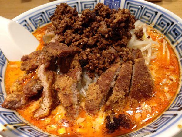 「排骨坦々麺」@希須林 赤坂店の写真