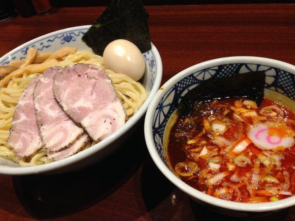 「特製つけ麺」@煮干中華そば 鈴蘭 新宿店の写真