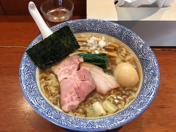「中華そば醤油」@麺処 ほん田の写真