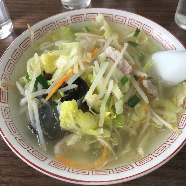 「タンメン」@多万里食堂の写真