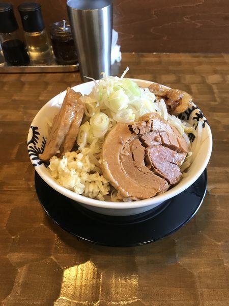 「洋二郎  大盛り+トロ豚「1050円」」@特級中華蕎麦 洋介の写真