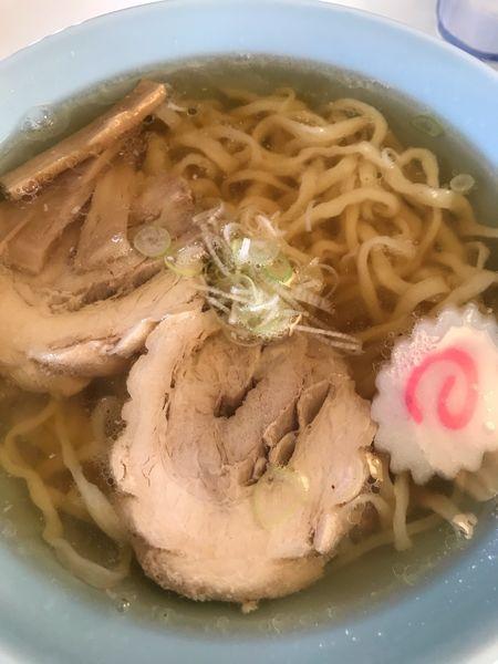 「ラーメン650円」@青竹手打ち佐野ラーメン ひだまりの写真