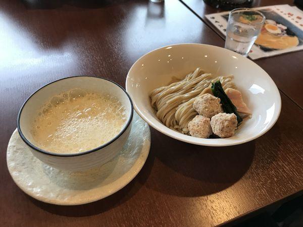「鶏泡白湯の汐つけ麺」@侍麺 SAMURAI NOODLEの写真