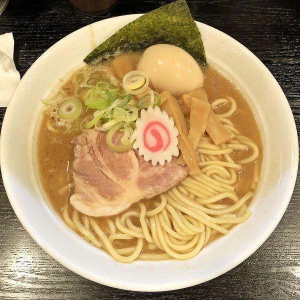 「らーめん+味玉」@大勝軒 まるいち 新宿店の写真