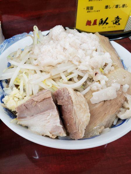 「ラーメン にんにく少しアブラ」@麺屋 臥竜の写真