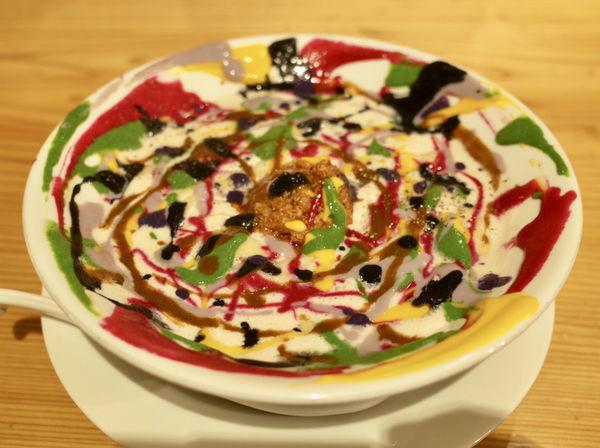 「ペイントクレイジーミルク味噌ラーメン…900円」@自家製麺 うろたの写真