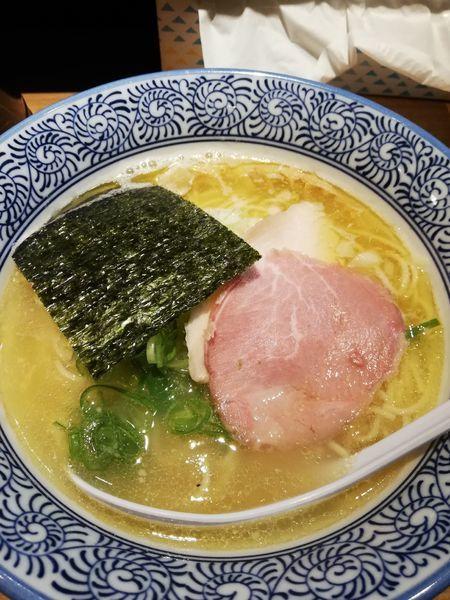 「煮干し中華そば(塩)」@麺や 渡海の写真