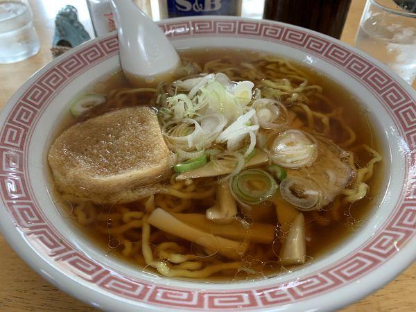 「手打ち中華そば」@いわき食堂の写真