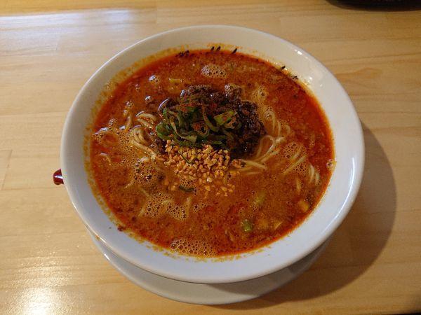 「担々麺」@麺庵ちとせの写真