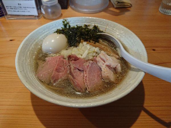 「特製煮干らぁ麺」@麺屋 さくら井の写真