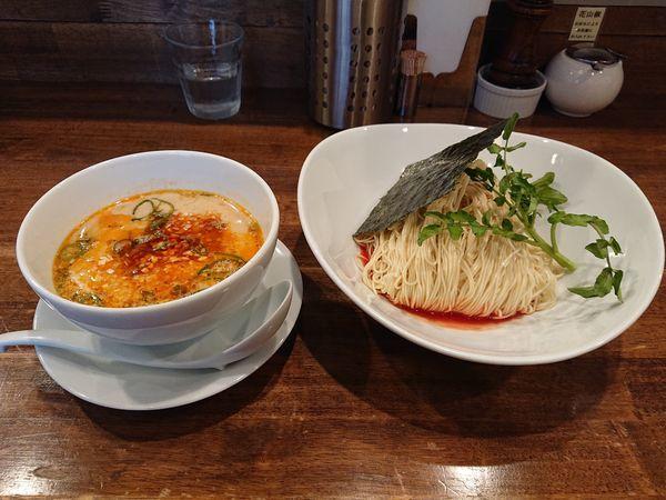 「担担つけ麺」@創作麺工房 鳴龍の写真