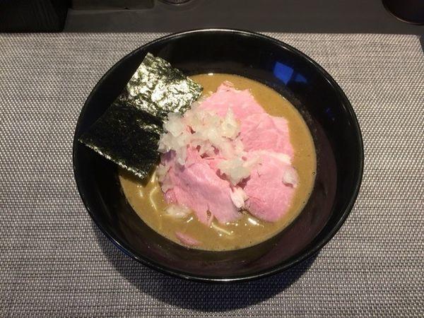 「肉中華そば(特濃) 醤油」@煮干乱舞の写真