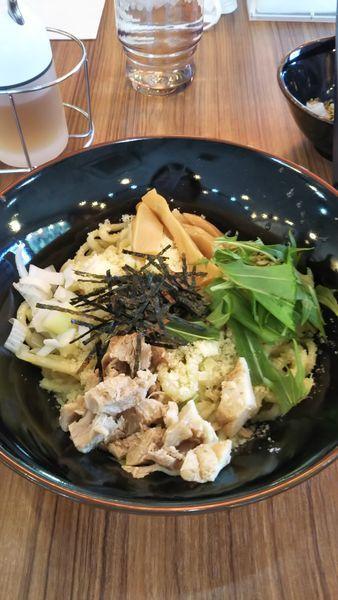 「チーズ油そば(840円)」@横浜家系ラーメン 壱角家 上尾店の写真