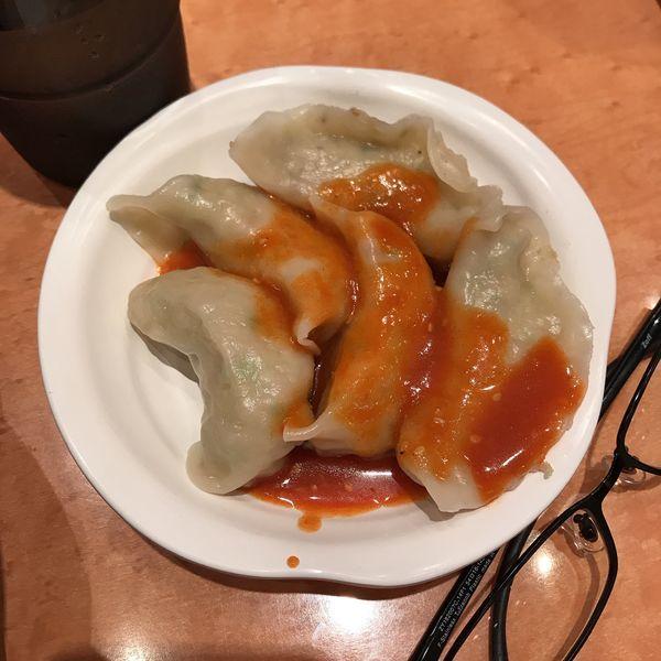 「味噌餃子(5個)」@元祖ニュータンタンメン本舗 京町店の写真