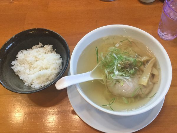 「朝ラー しょっつる(¥500)」@麺屋 朋の写真