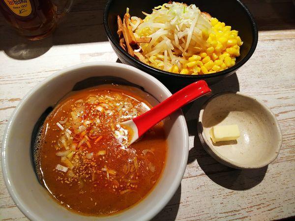 「味噌つけめん」@麺屋 誉の写真