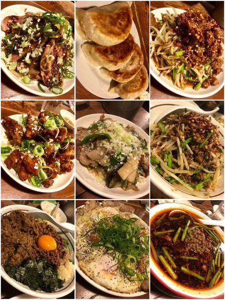 「【気まぐれ限定】皿ひろし+まぜそばカレー豚+台湾ラーメン..」@麺 酒 やまのの写真