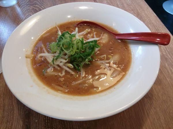 「味噌拉麺」@麺屋 新創の写真