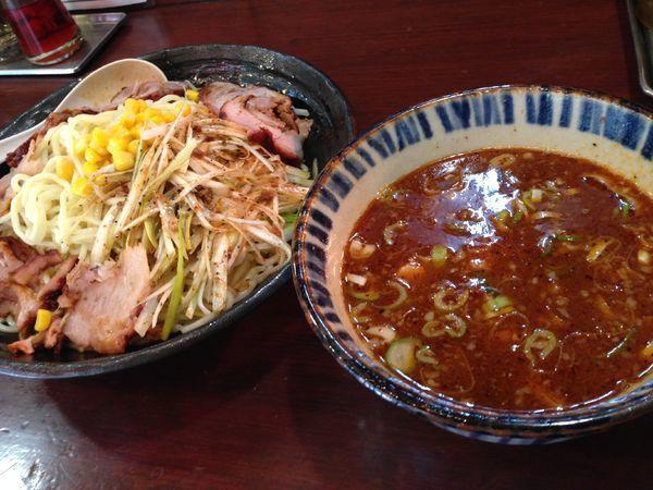「ライオンつけ麺」@らいおん 府中本店の写真