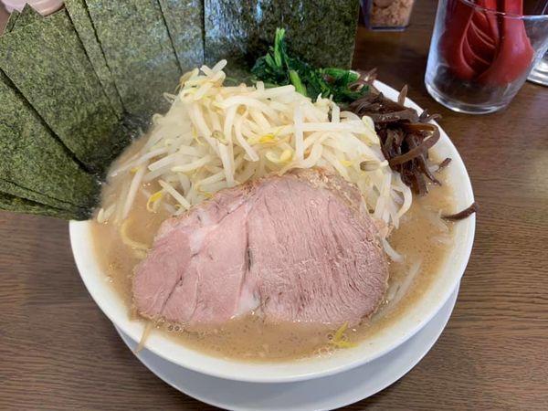 「ラーメン(モヤキャベ・のり」@うまいヨ ゆうちゃんラーメンの写真