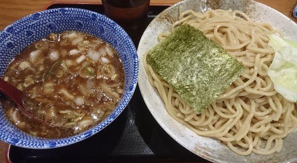 「濃厚つけ麺 大盛」@汁麺屋 胡座の写真