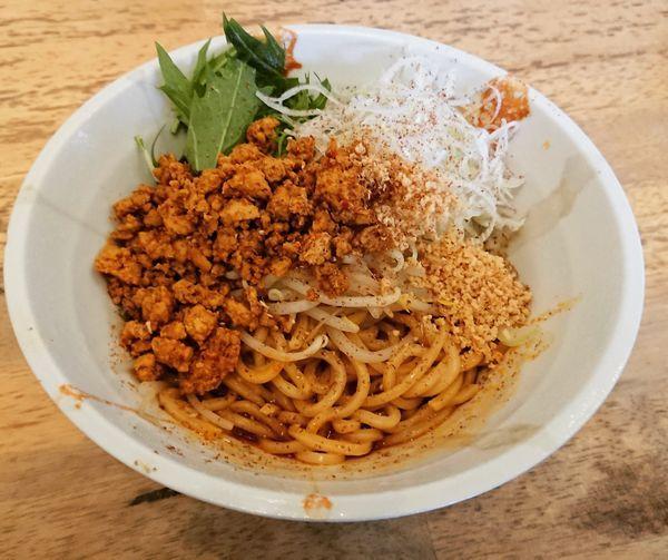 「汁なし担々麺」@麺処 慶の写真