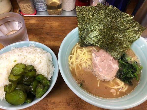 「ラーメン 650円」@横浜ラーメン 武蔵家 船橋店の写真
